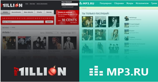 Cómo descargar música de MP3.RU o MP3 Million