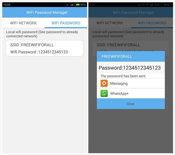 Cómo encontrar la contraseña de WIFI en Android