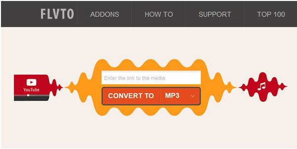 FLVTO para convertir YouTube a MP3