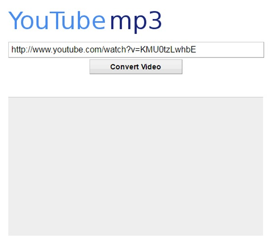 pagina para convertir videos de youtube a mp3 en linea