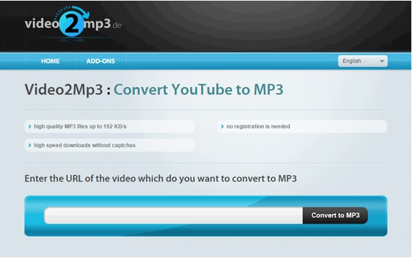 musica da youtube con video2mp3