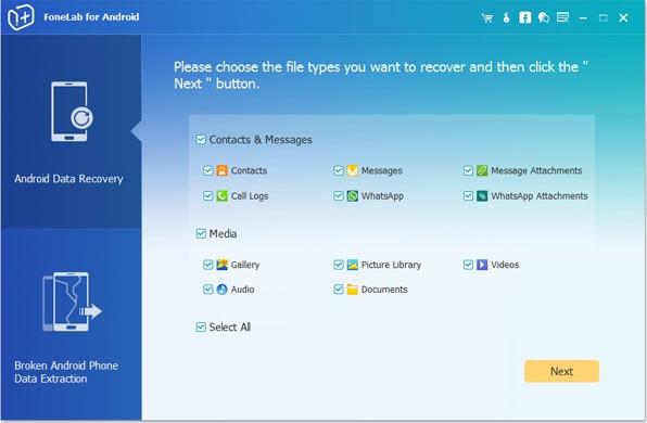 Cómo recuperar archivos Android