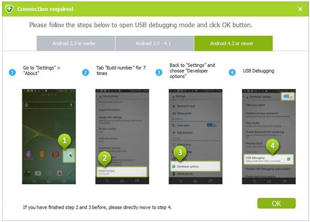 Cómo recuperar conversaciones de WhatsApp en Samsung