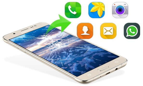 Cómo recuperar datos de un Samsung quebrado