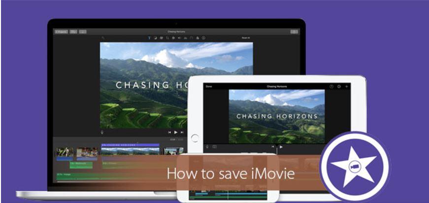Cómo guardar iMovie