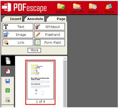 Editor de PDF gratis
