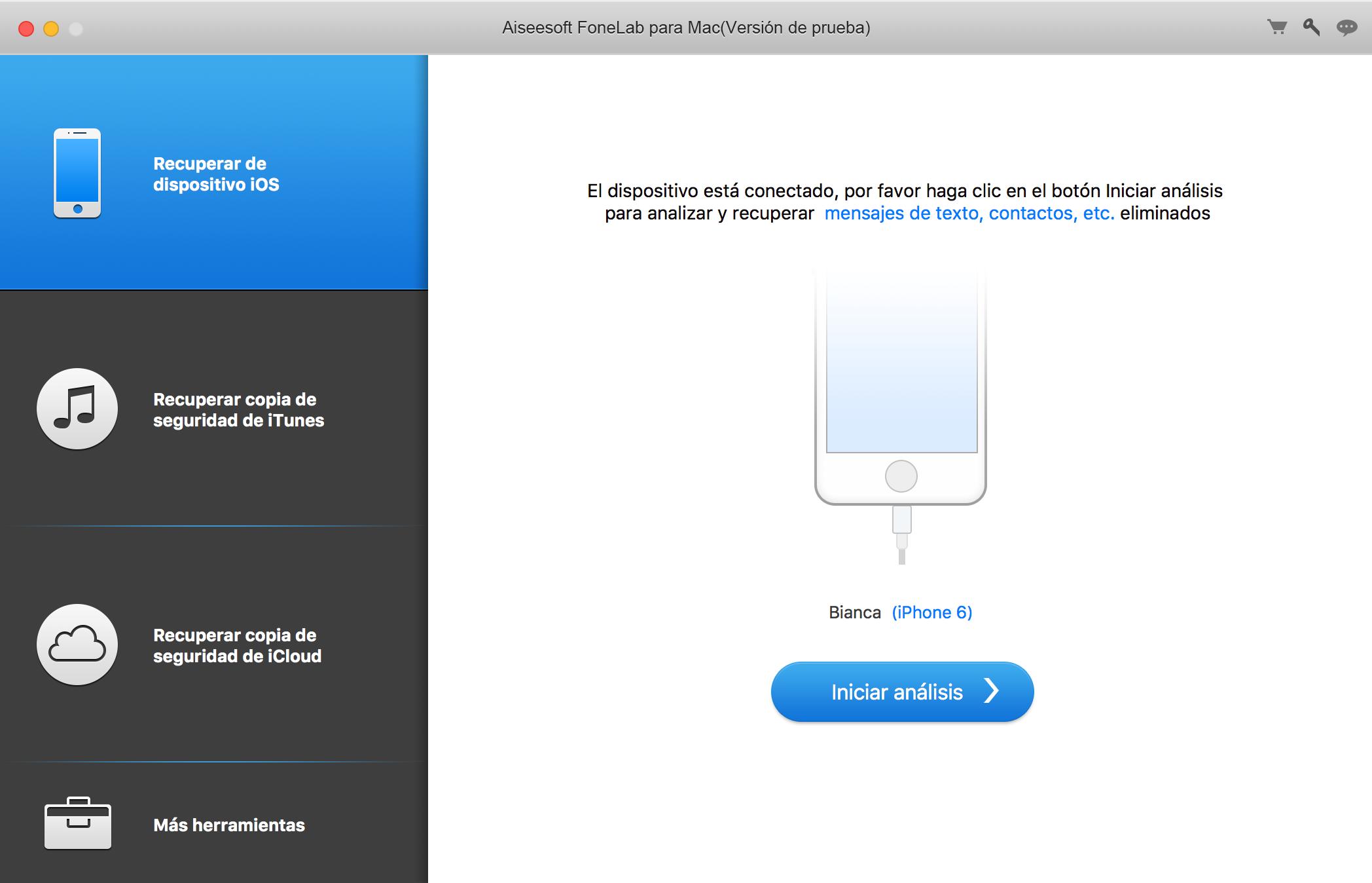 Tela de ativação do FoneLab System Repair para Mac