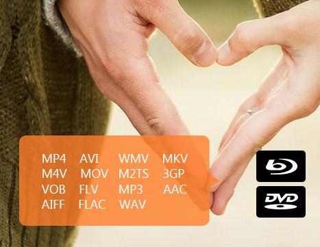 Importe arquivos em vários formatos para criar um DVD