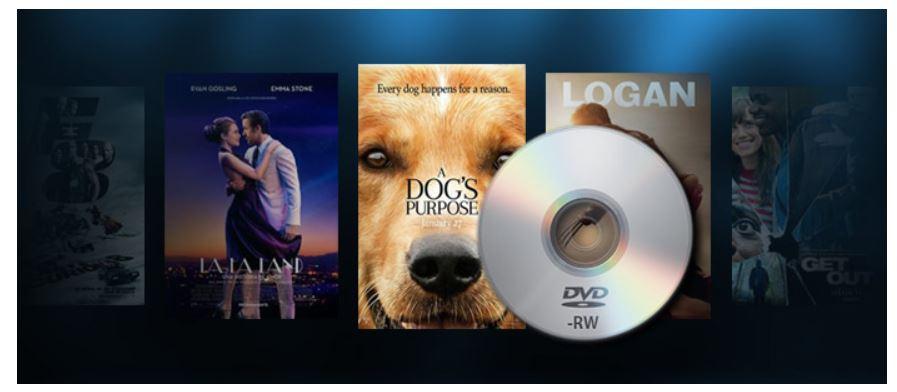 Grabar películas en DVD