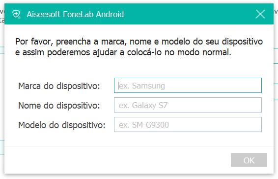 Processo de reparação do sistema Android