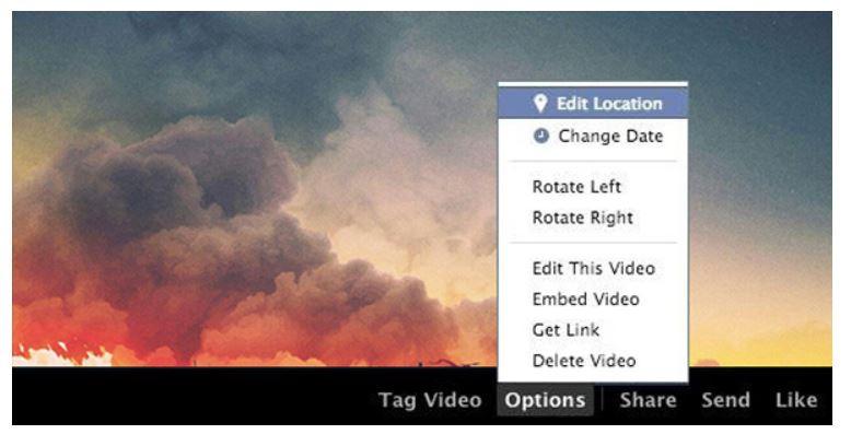 Cómo girar video en Facebook