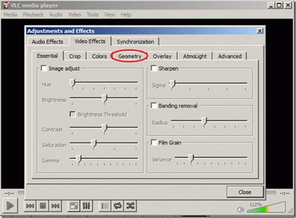 Cómo girar un video en reproductor VLC