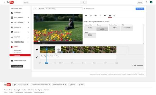 El mejor editor de video para YouTube