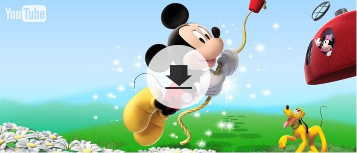 Cómo descargar videos del Club de Mickey Mouse desde YouTube