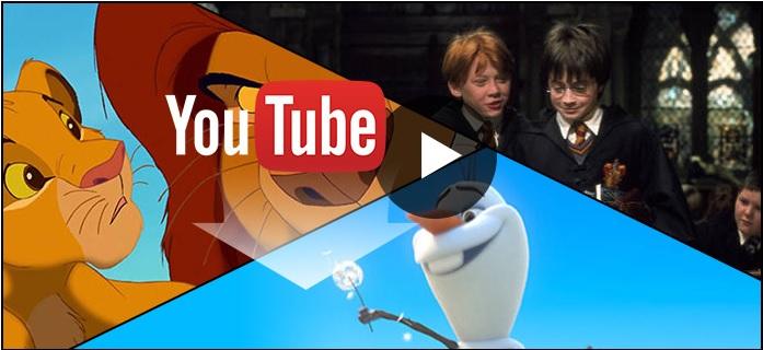 Cómo descargar películas infantiles de YouTube