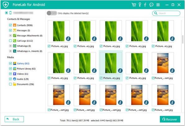 Cómo recuperar fotos en Samsung Galaxy