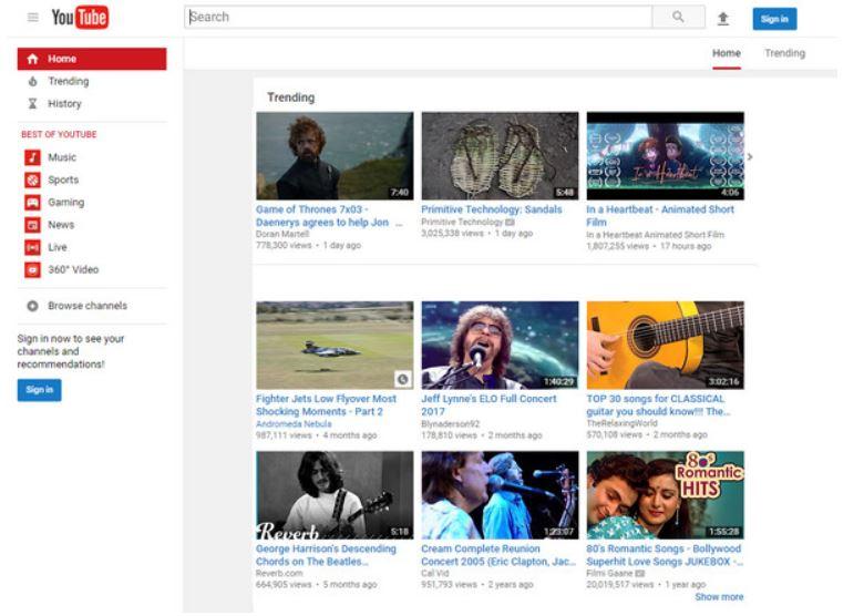 SWF a YouTube