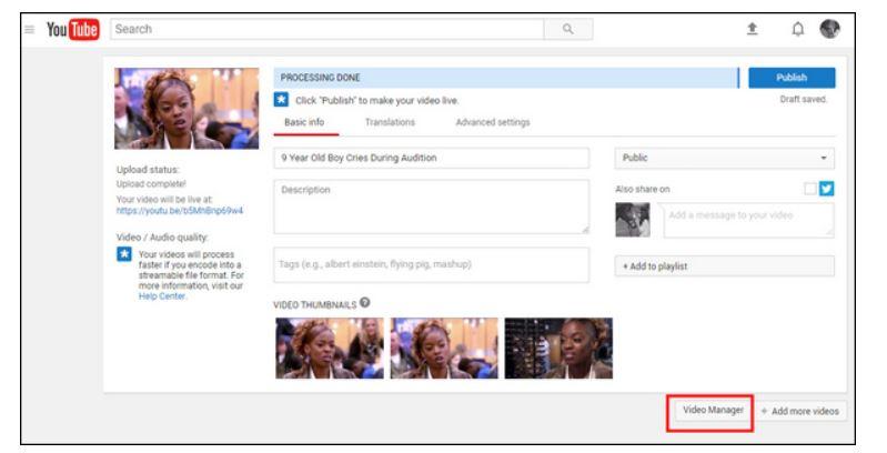 Cómo cortar videos de YouTube