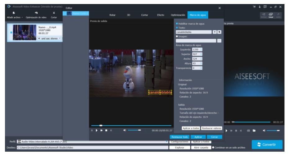 Editor de video MKV