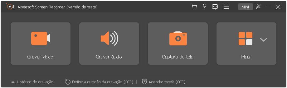Gravar filmes iTunes com o Aiseesoft Screen Recorder